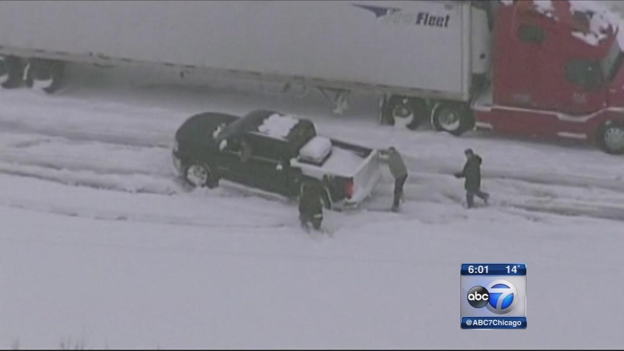 Chicagoans among those stranded in Kentucky