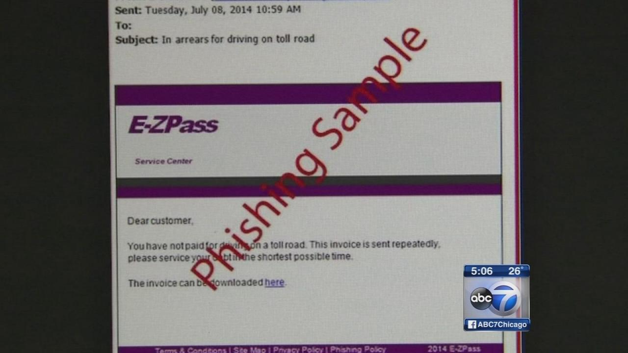 IL Tollway warns of scams