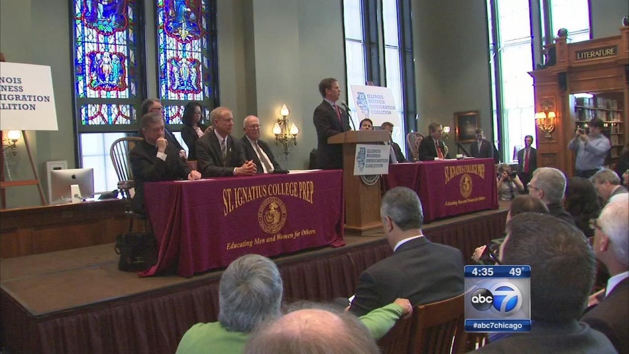 Archbishop, Ill. Republicans address immigration reform