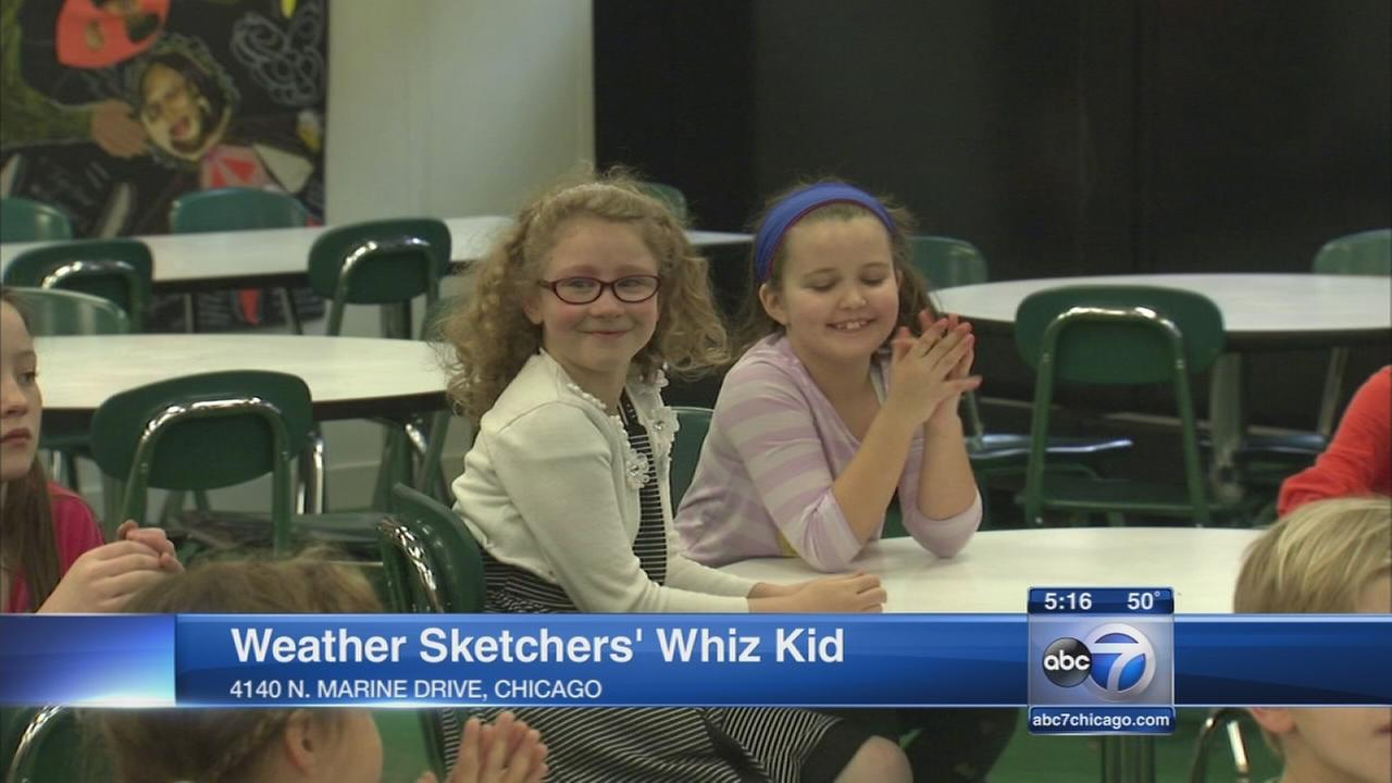 ABC7?s Phil Schwartz visits Weather Sketchers? Whiz Kid