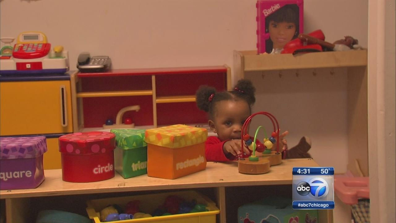 Protests against daycare cuts