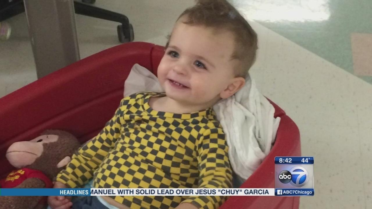Community unites to help 20-month-old boy fight cancer