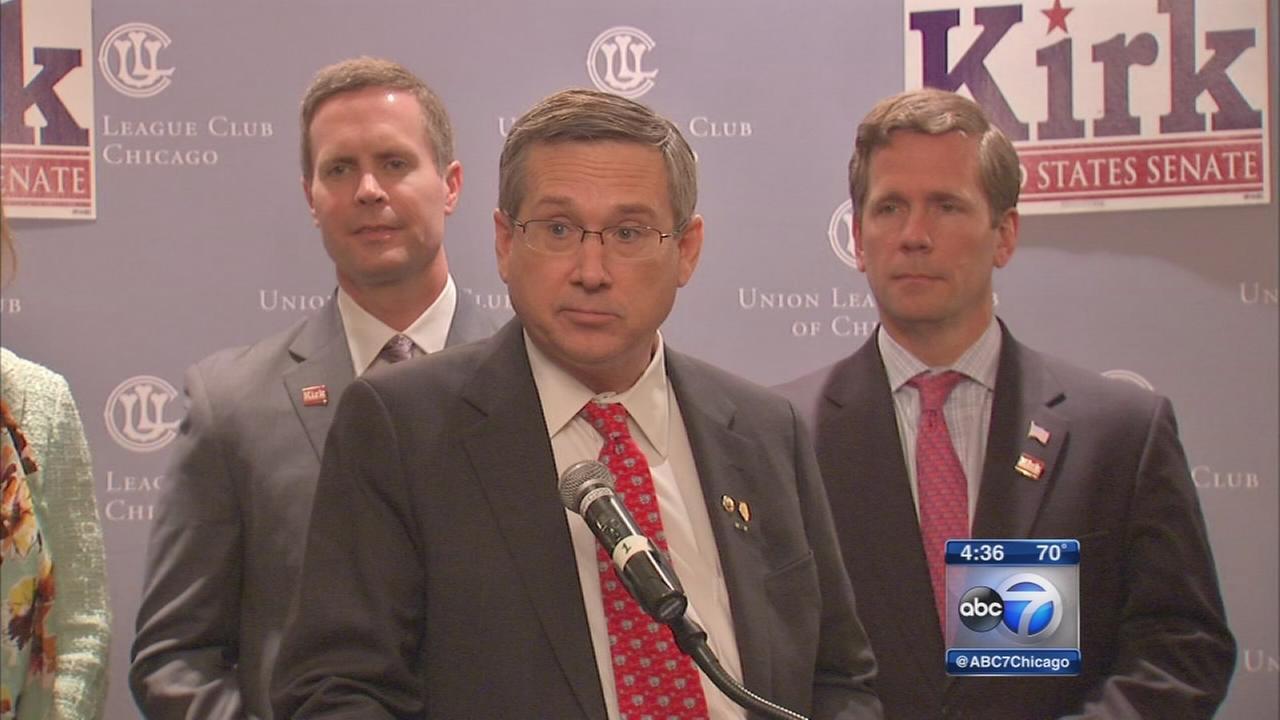Mark Kirk holds re-election fundraiser