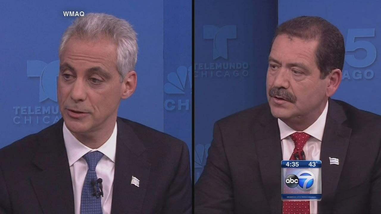 Mayoral candidates face off over budget