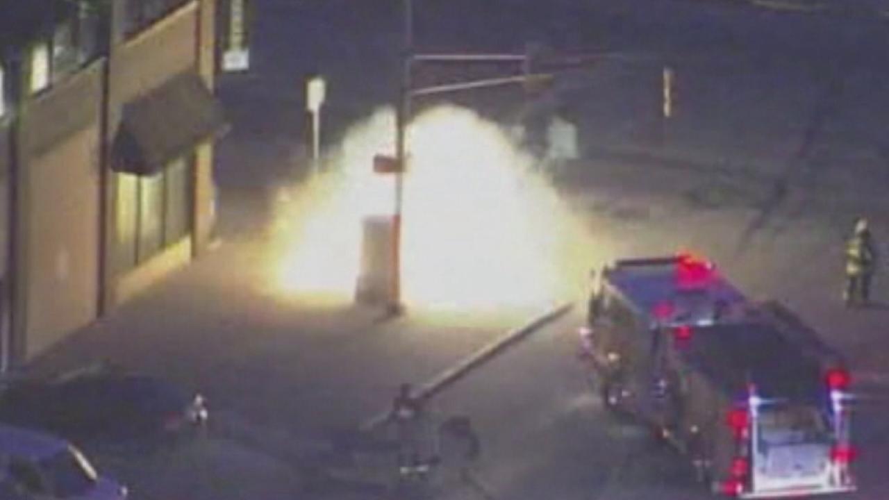 Indianapolis underground explosion under investigation