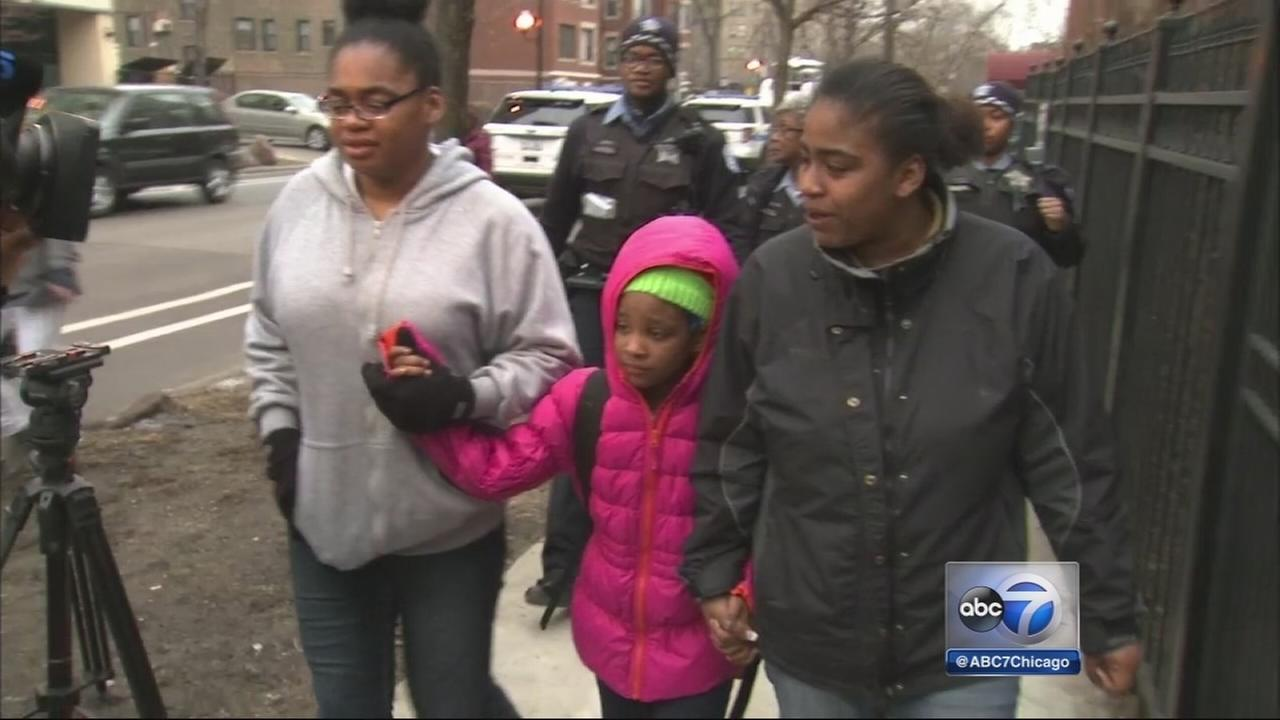 Missing girl, 7, reunited with family
