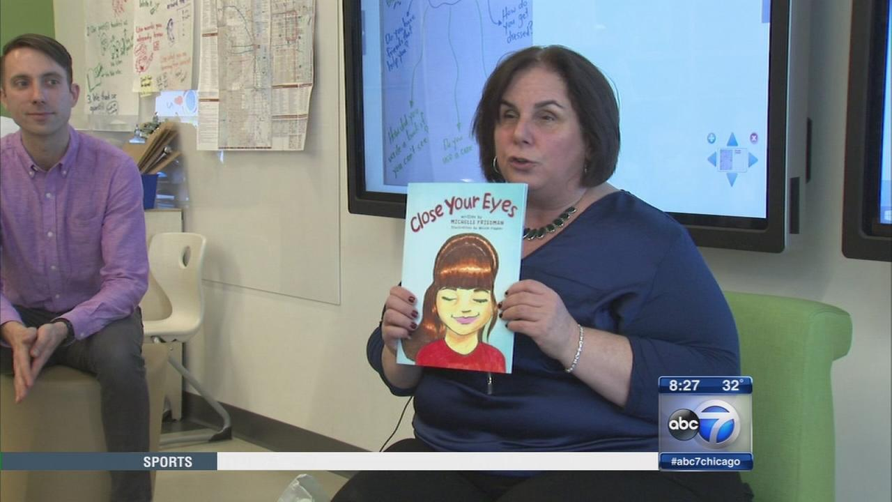 Book teaches children about abilities of those who are blind