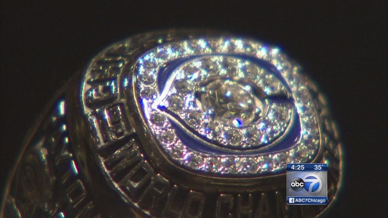 Elmhurst museum exhibits Chicago sports championship rings