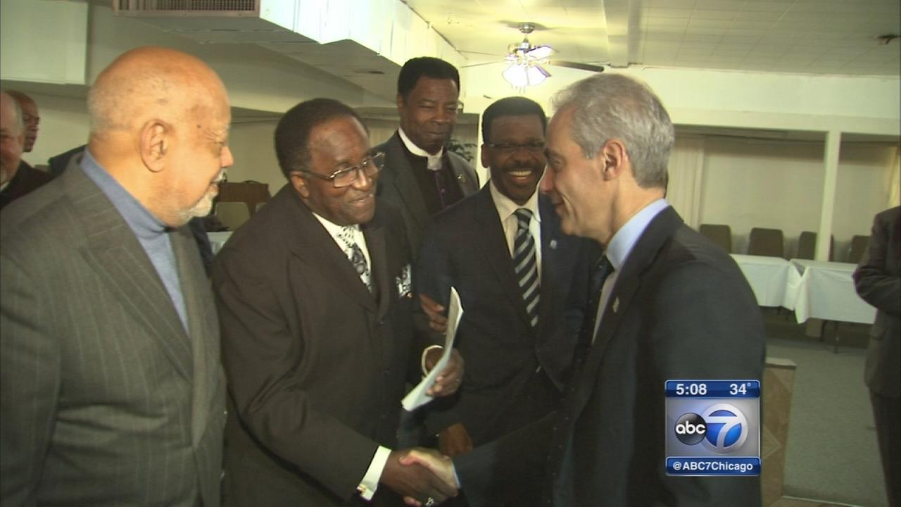 African-American clergy divided on mayoral endorsements