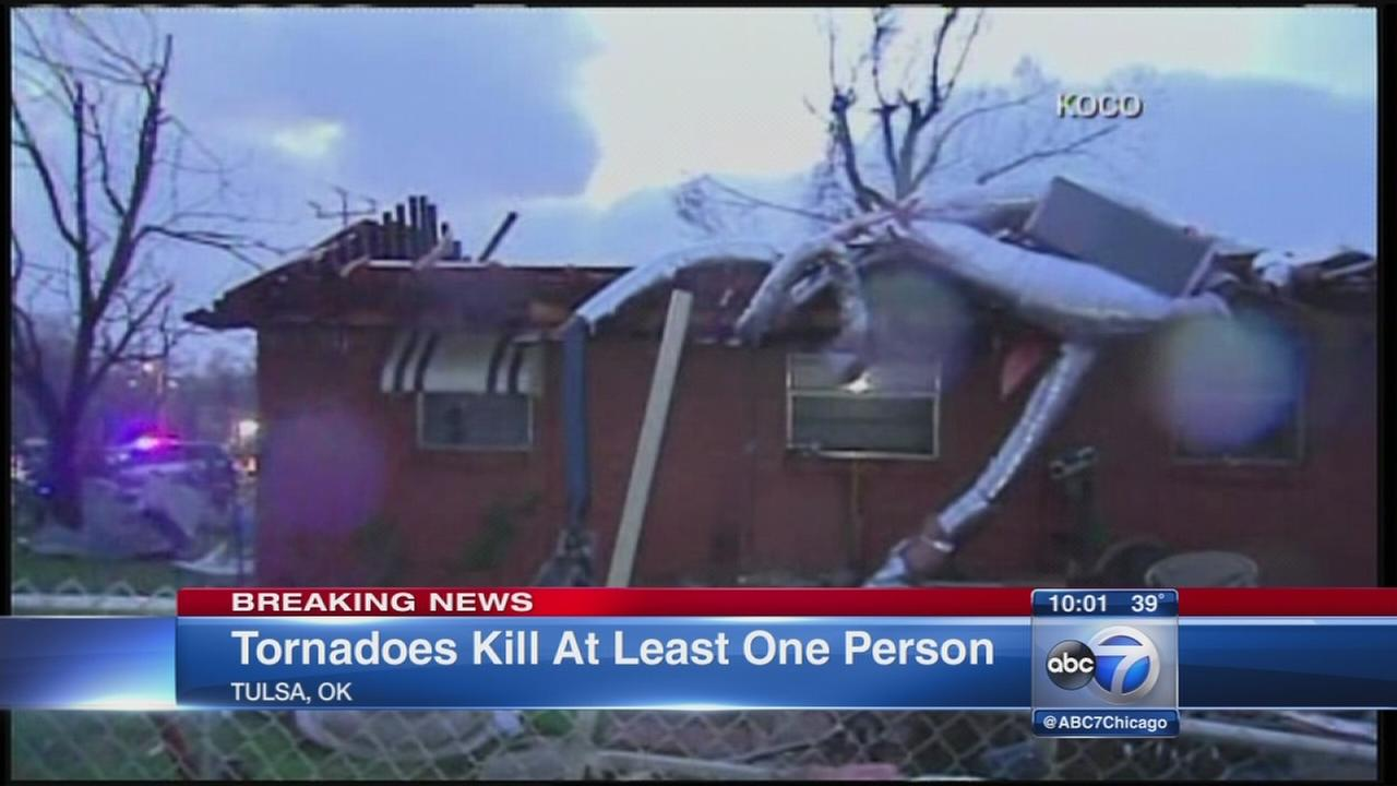 Deadly tornadoes hit Oklahoma, Arkansas