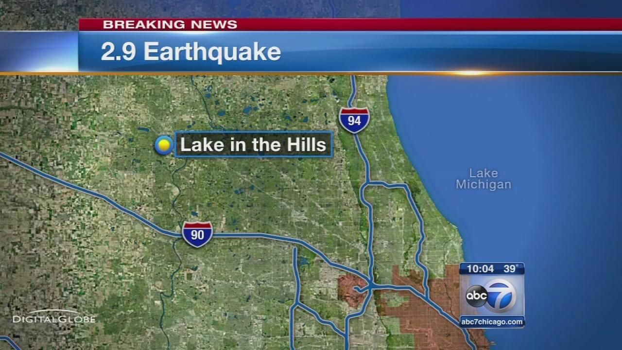 Earthquake shakes Lake in the Hills