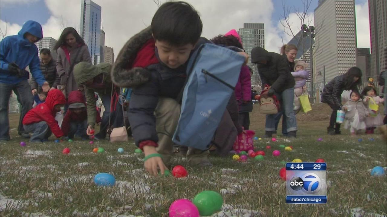 Easter fun at Maggie Daley Park