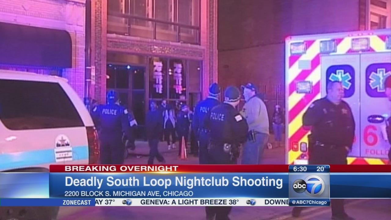 1 killed in South Loop night club shooting