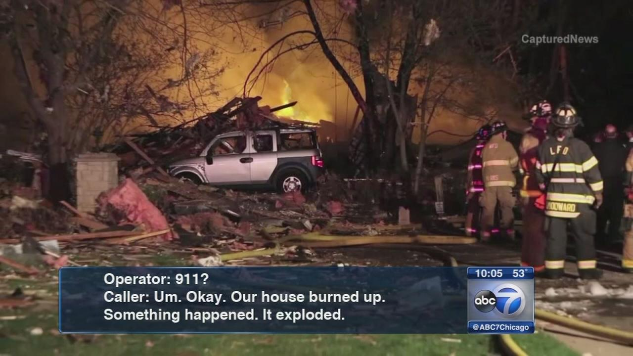 Long Grove explosion prompted 911 calls