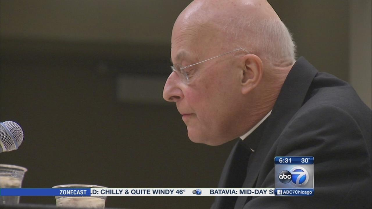 Cardinal George re-admitted to hospital