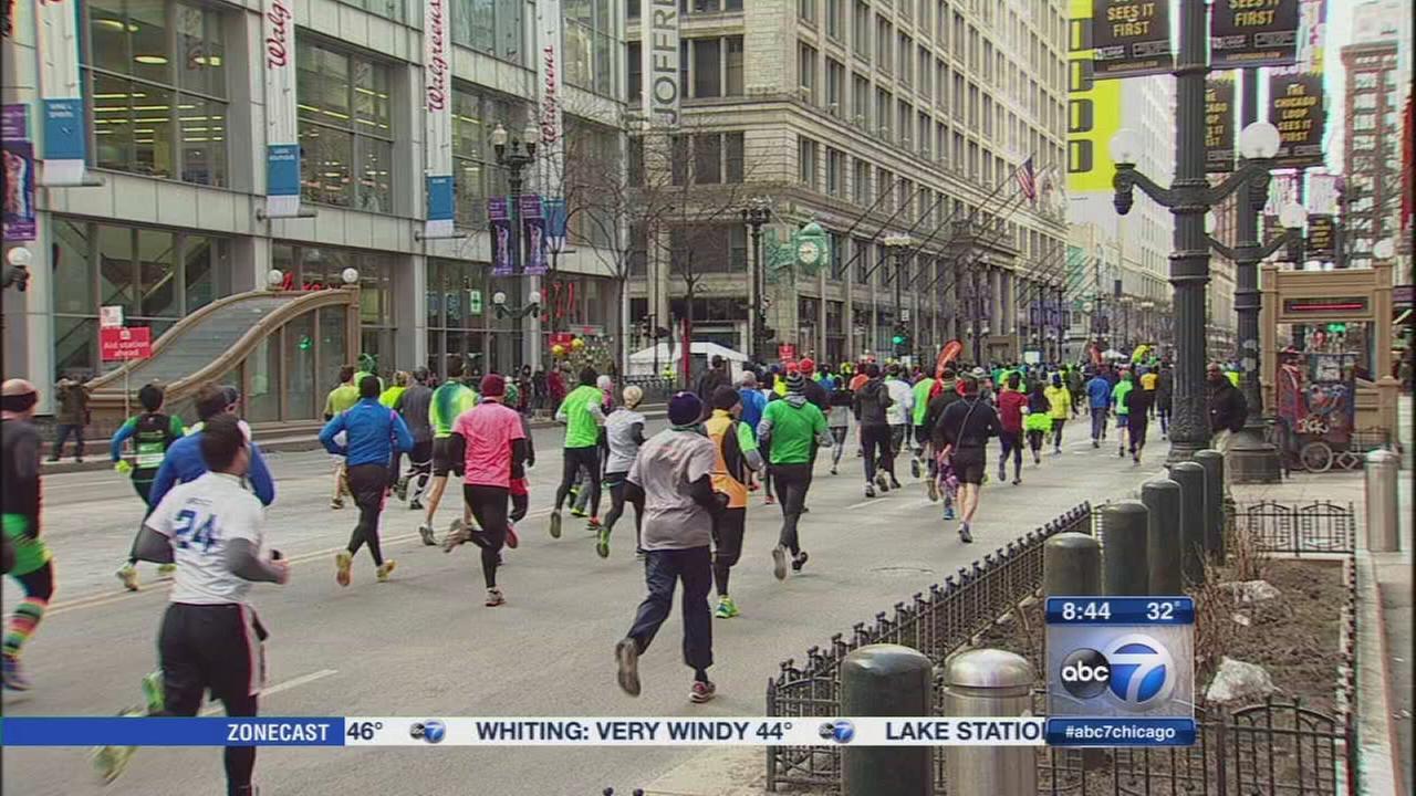 Shamrock Shuffle underway in Chicago