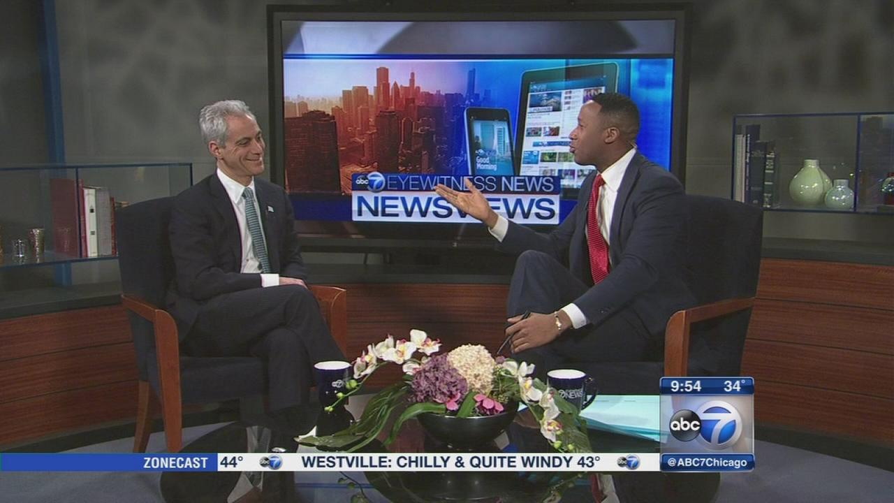 Newsviews: Mayor Rahm Emanuel