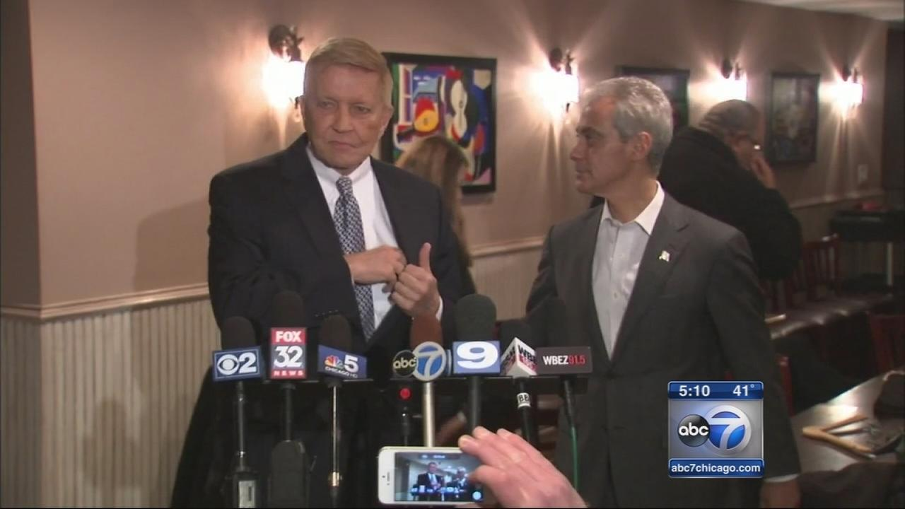 Fioretti endorses Mayor Rahm Emanuel in mayoral race