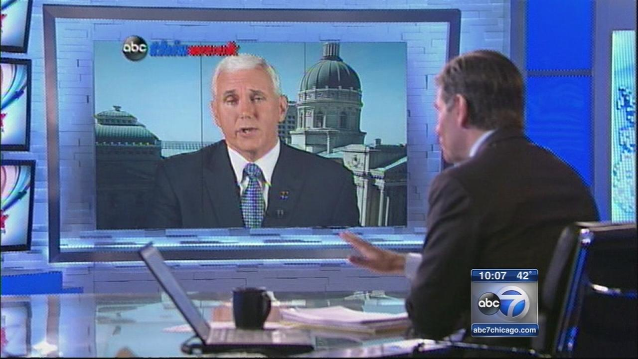 Indiana Gov. Pence: Were not going to change this law
