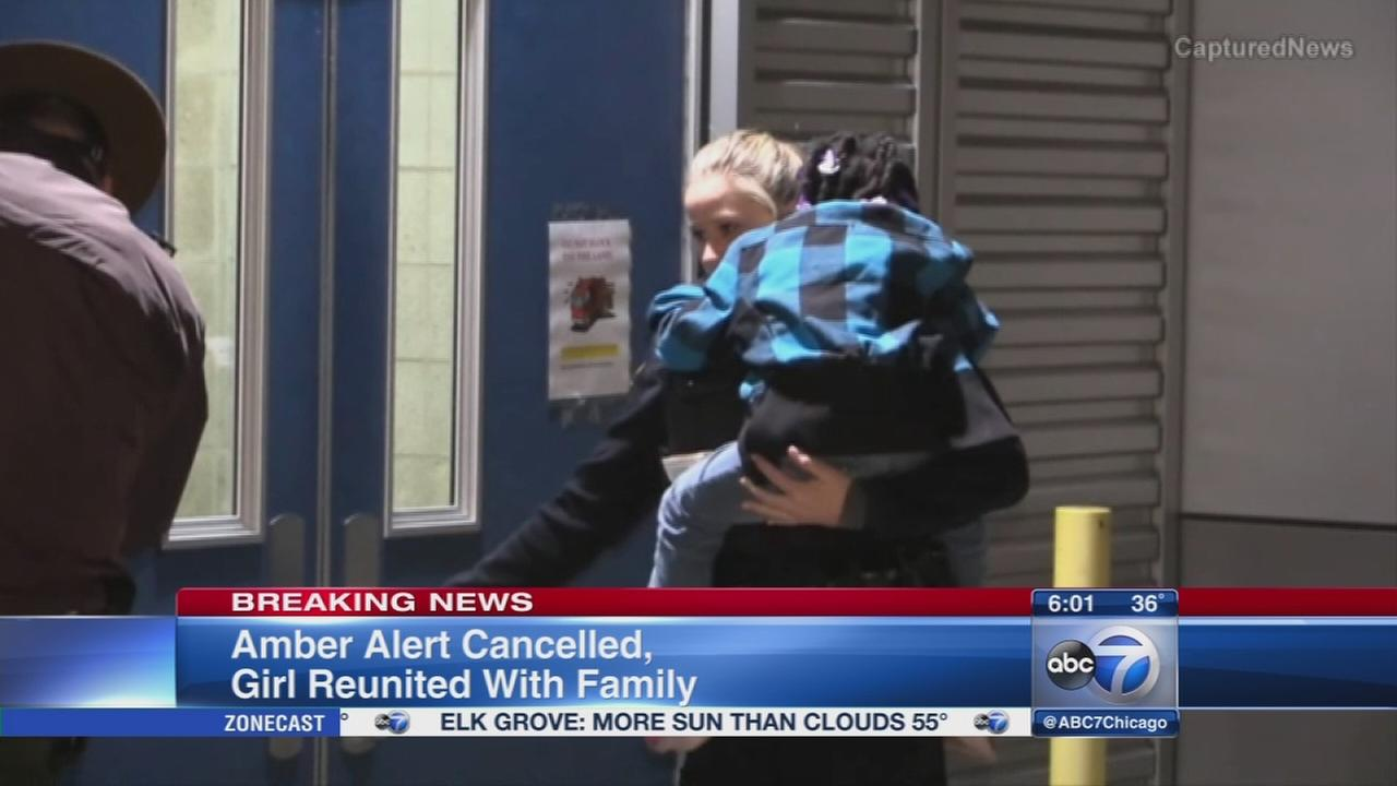Missing girl, 5, reunited with family in Chicago