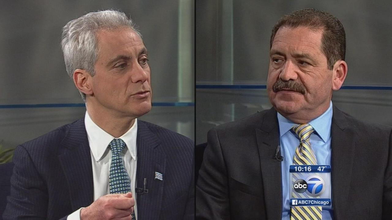 Emanuel vs. Garcia on Chicagos key issues