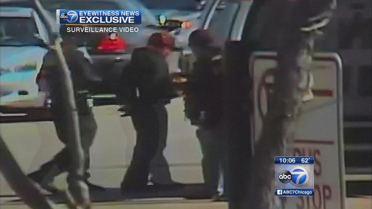 Video shows police raiding West Side business