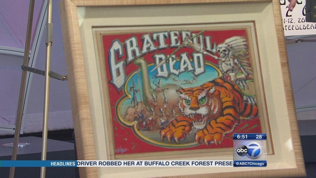 Largest Grateful Dead collection ever to be auctioned