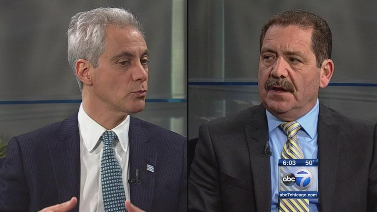 Garcia surpasses Emanuel in late campaign donations