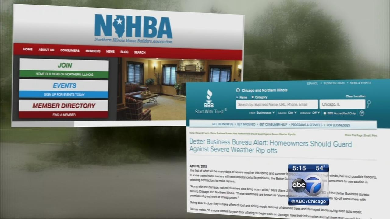 BBB warns of storm chaser scammers
