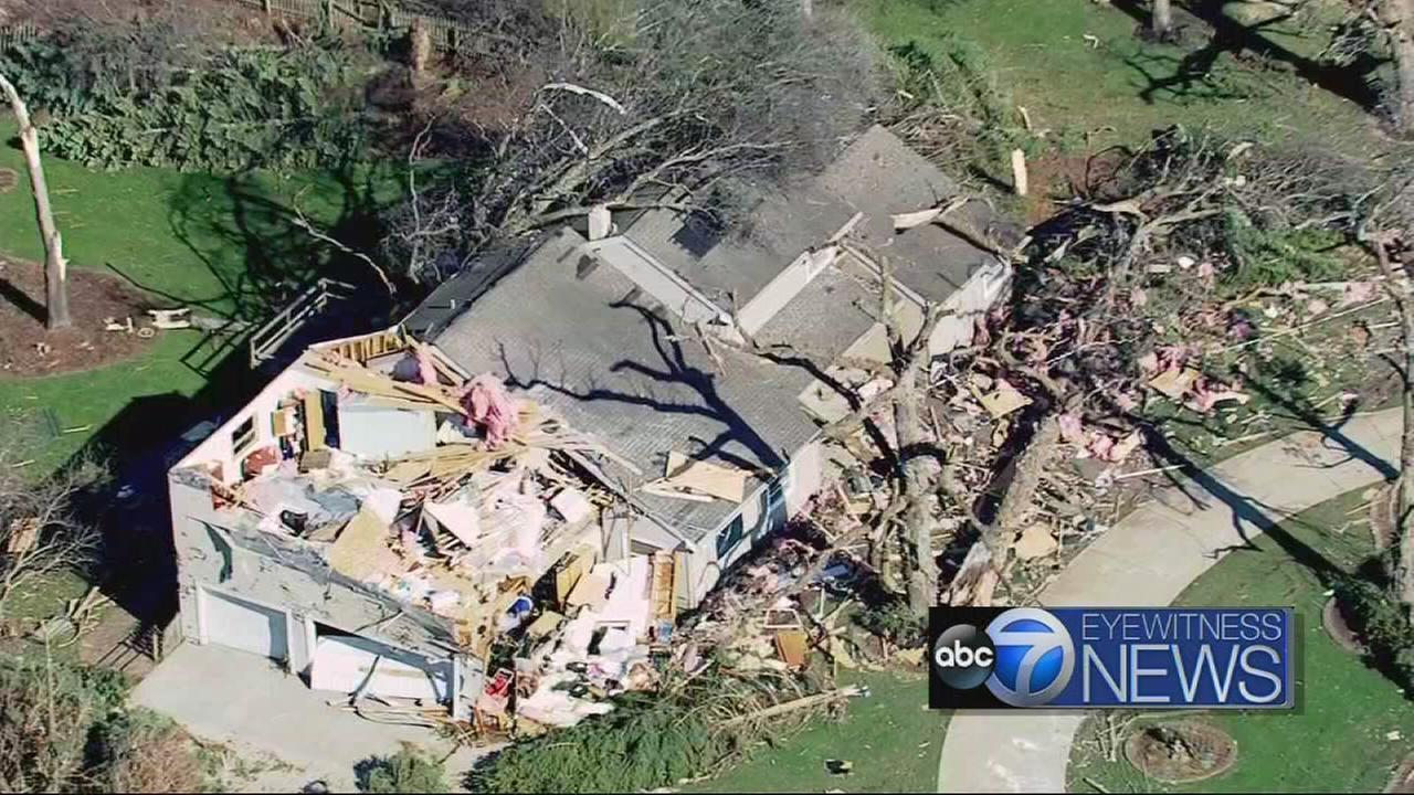 Chopper 7 HD covers tornados path