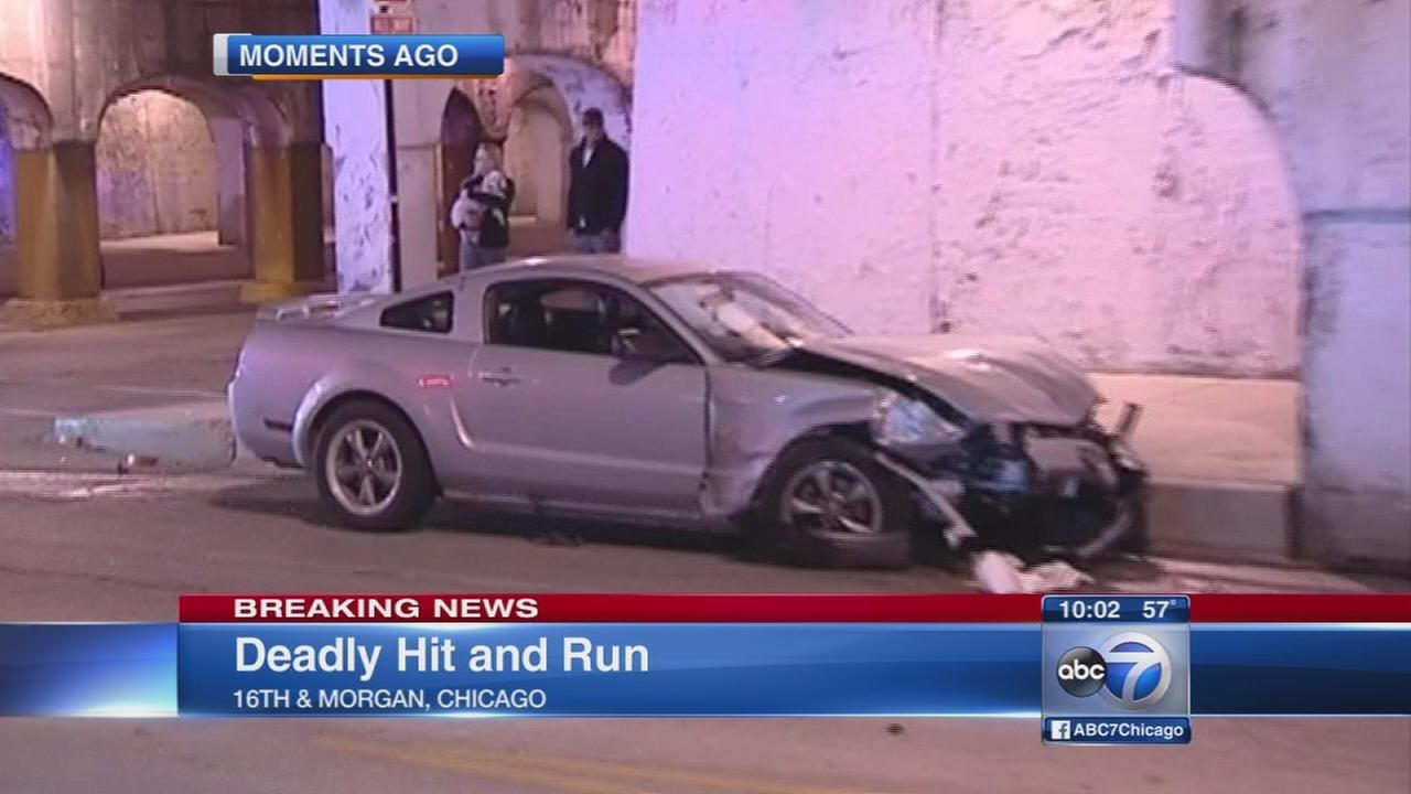 Woman killed in hit-and-run