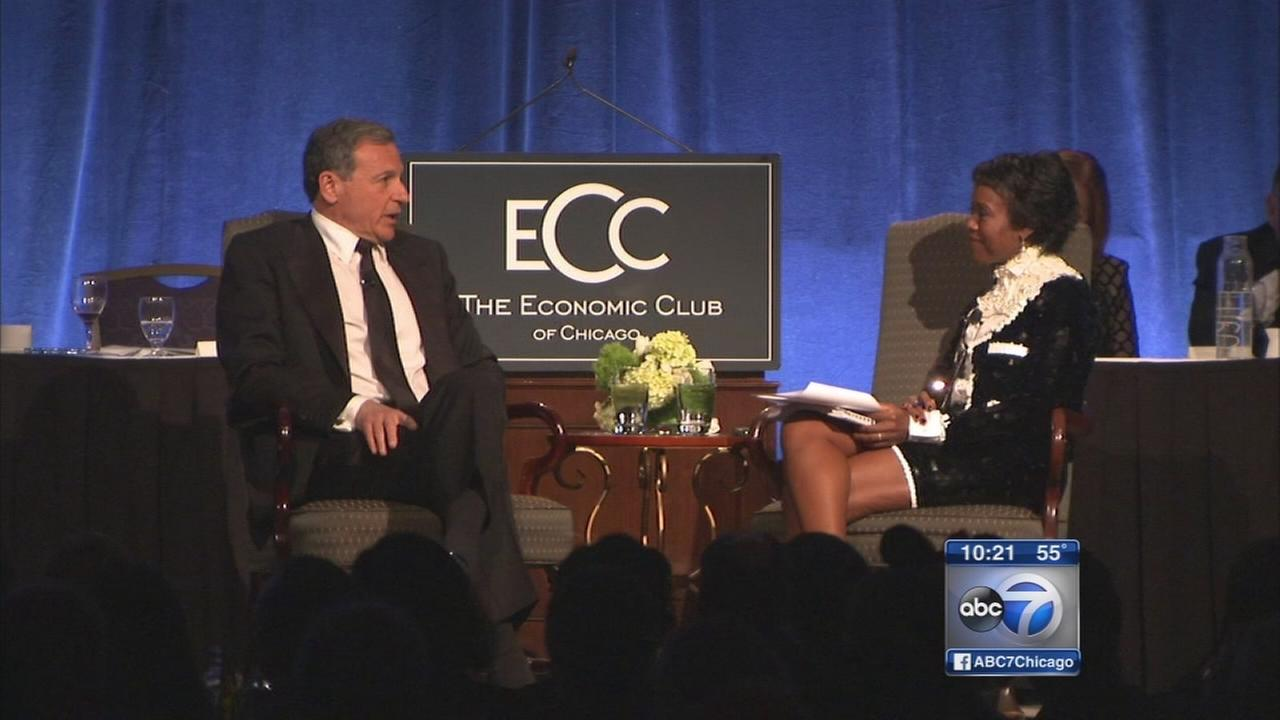 Disney CEO speaks to Economic Club of Chicago