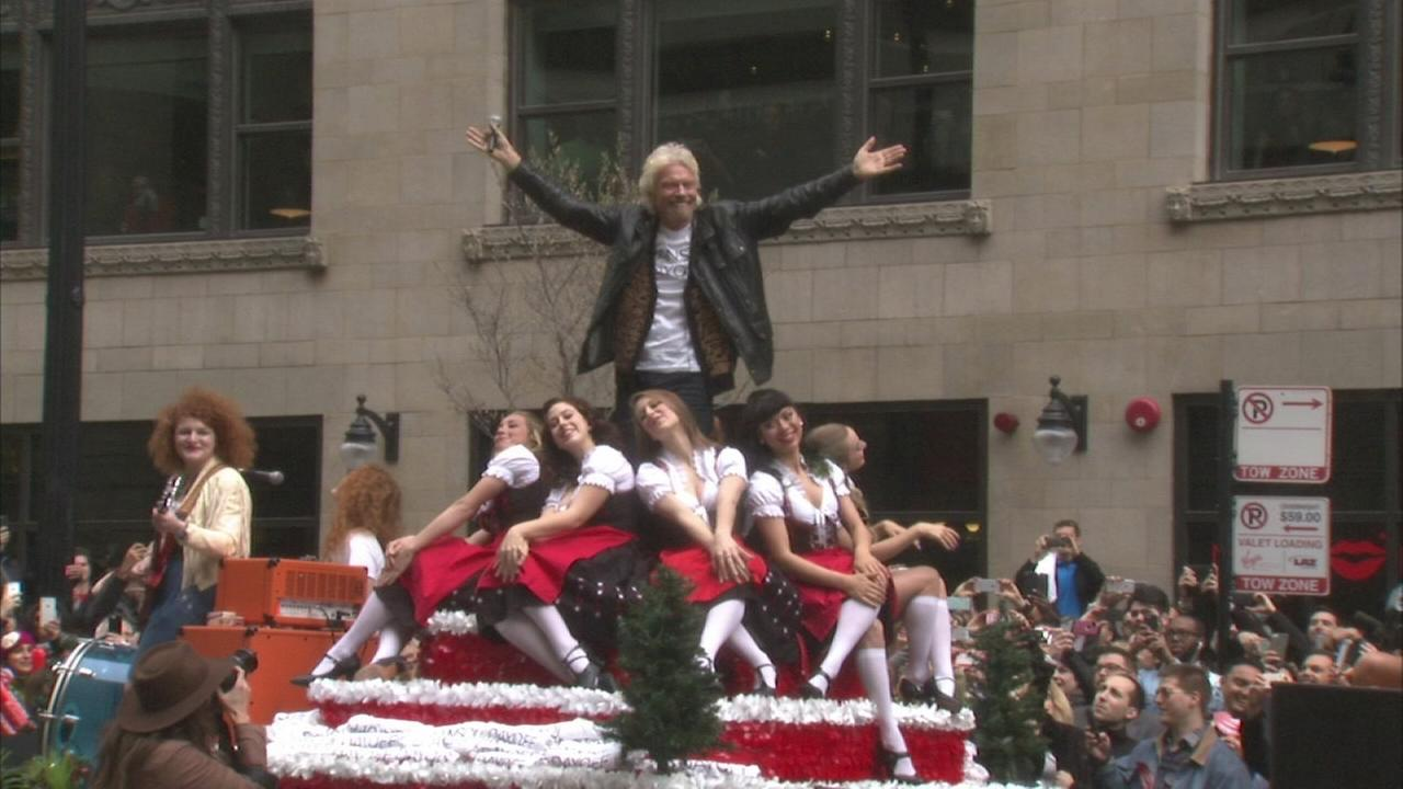 Richard Branson recreates Ferris Bueller