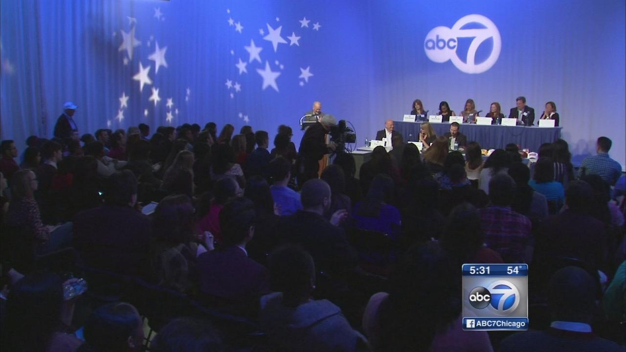 ABC7 hosts broadcasting career day