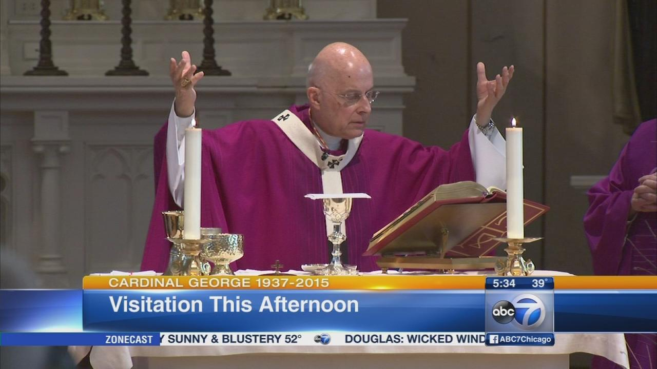 Cardinal George visitation begins Tuesday