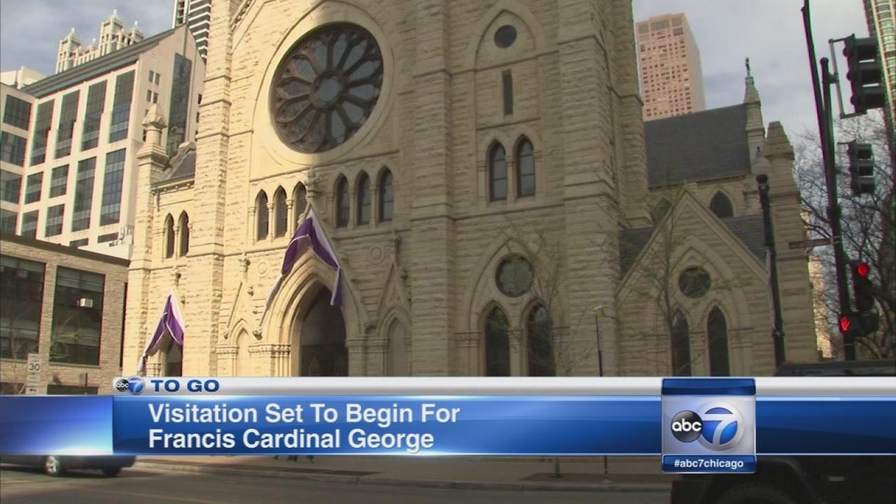 Visitation begins for Cardinal George