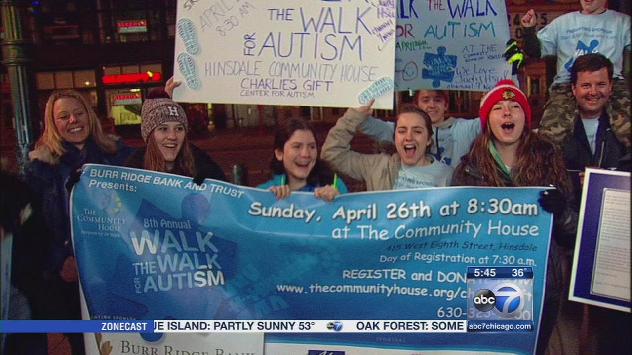 Walk the Walk for Autism in Hinsdale