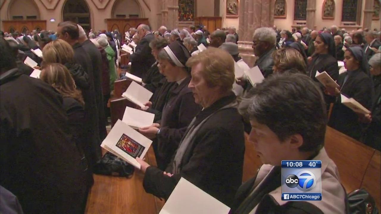 All-night vigil underway at Holy Name