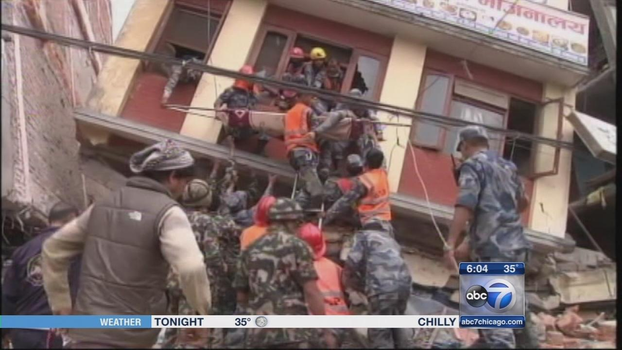 Nepal earthquake death toll above 2,000