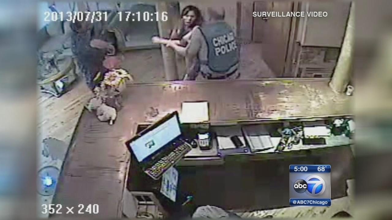 West Side salon owner alleges police abuse