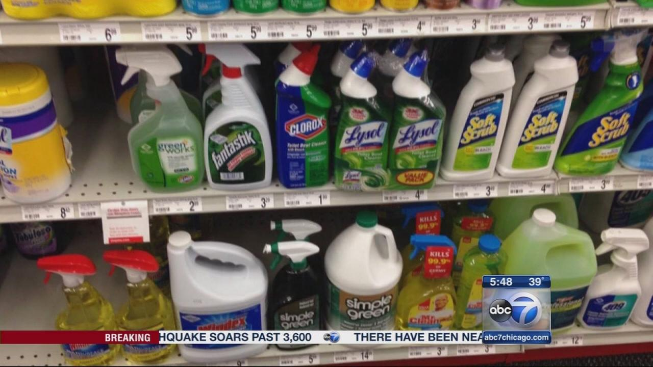 Consumer Reports: Spring cleaning dangers