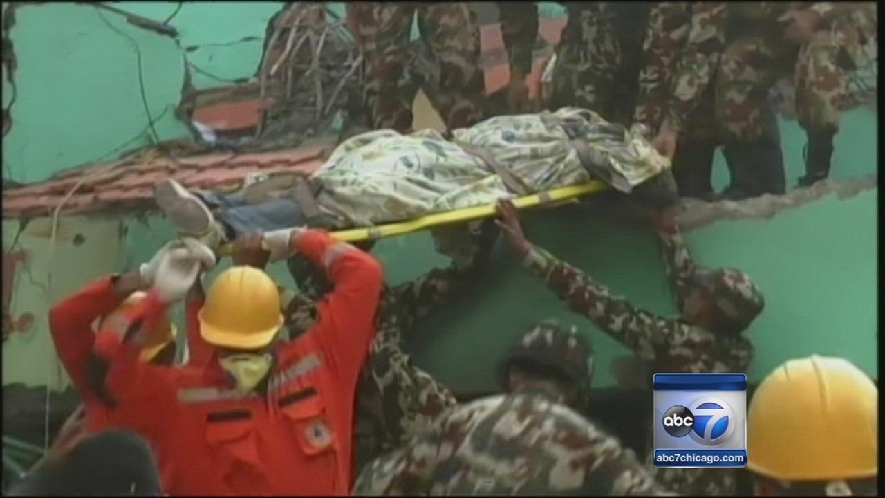 Nepal earthquake death toll climbs