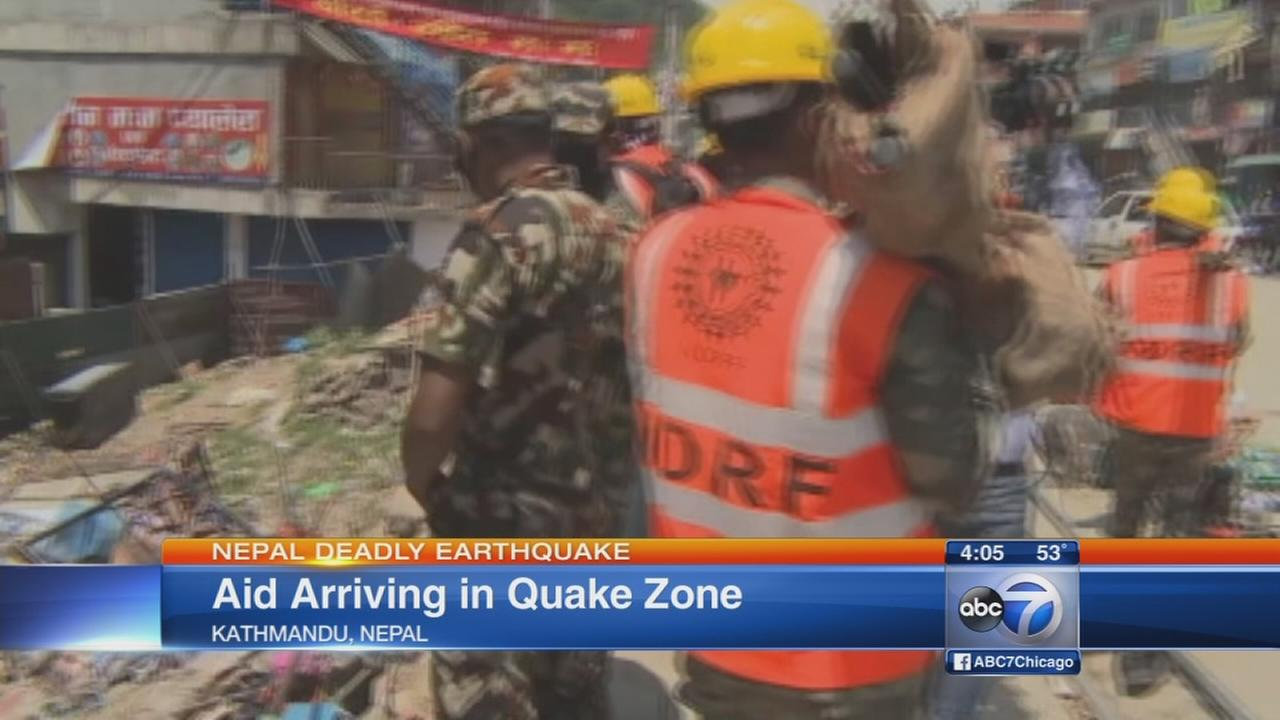 Death toll climbs in Nepal