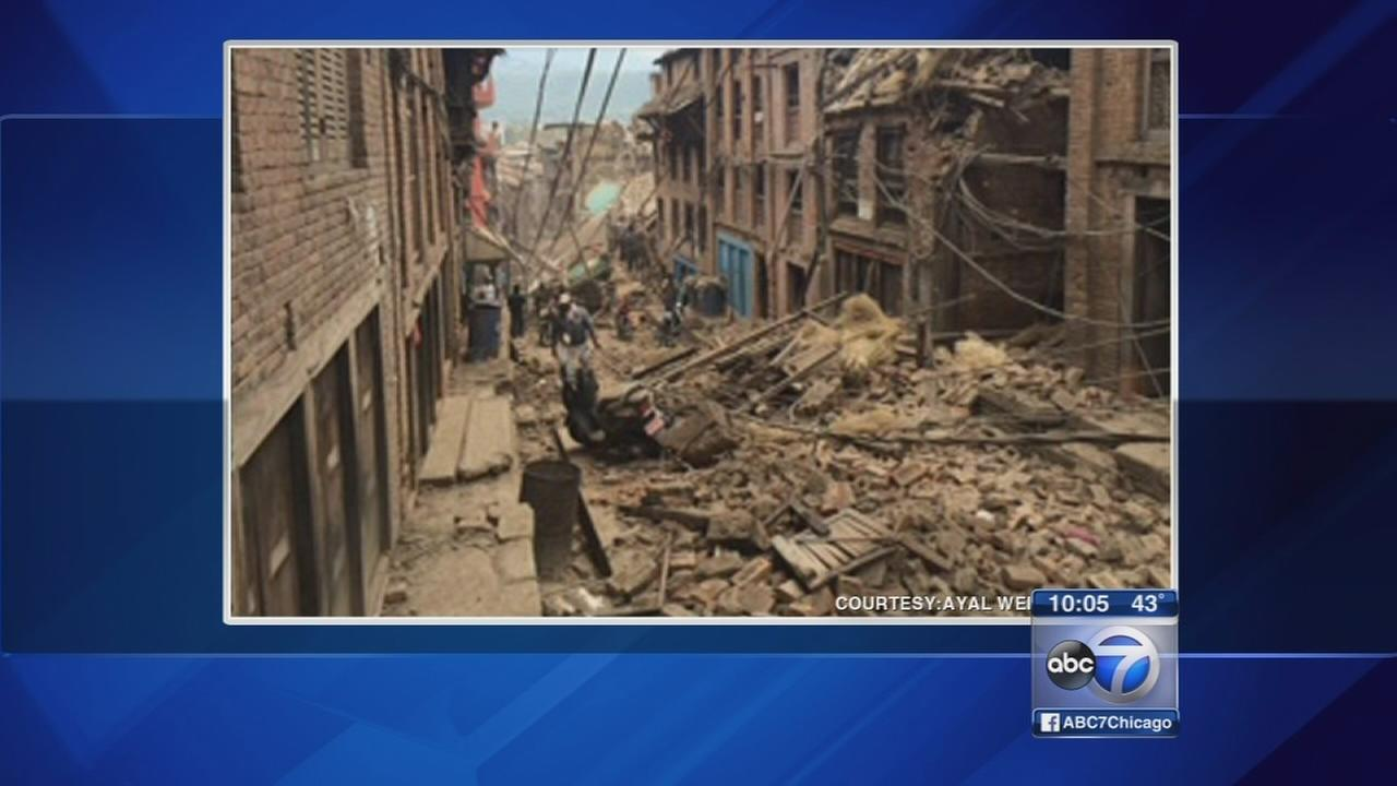 Nepal earthquake relief drive underway in Chicago