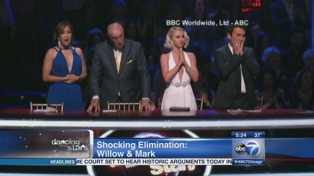 Shocking elimination on DWTS