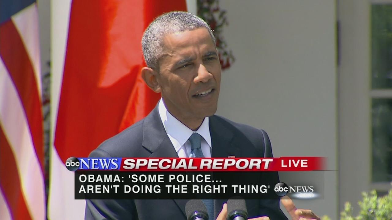 President Obama addresses Baltimore riots
