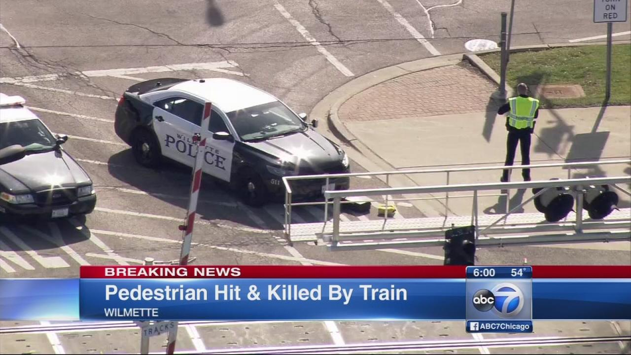 Major Metra delays after pedestrian struck