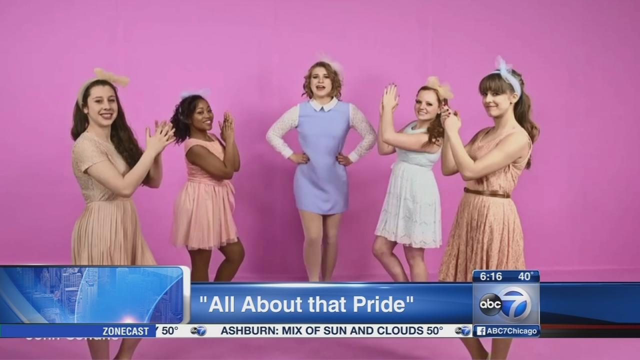 Oak Park students create All About That Pride school spirit video