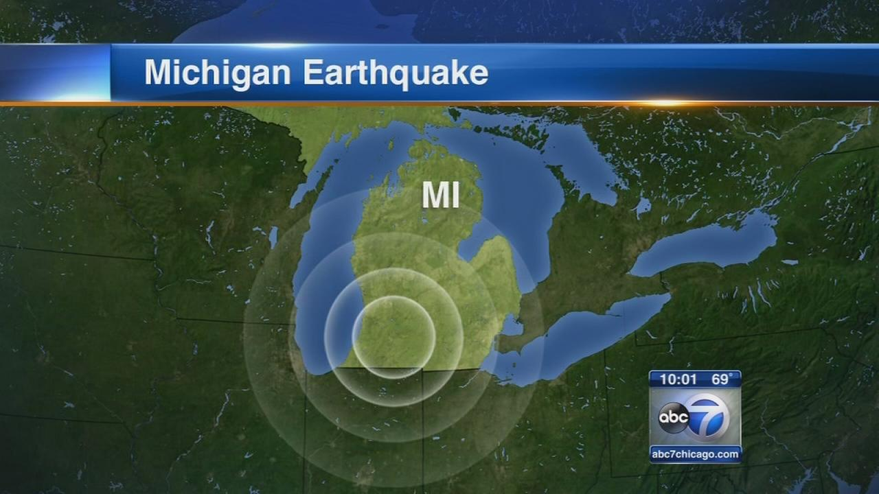 Michigan shaken by 4.2 magnitude earthquake