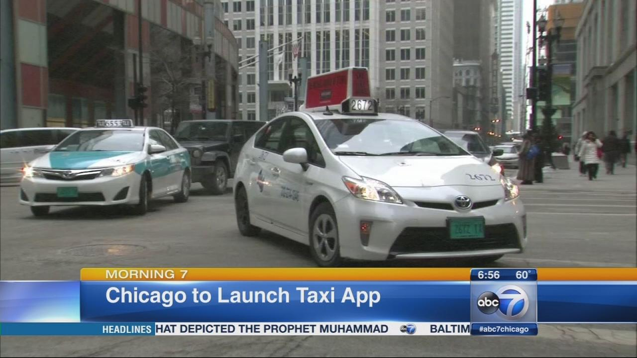Chicago to launch taxi app